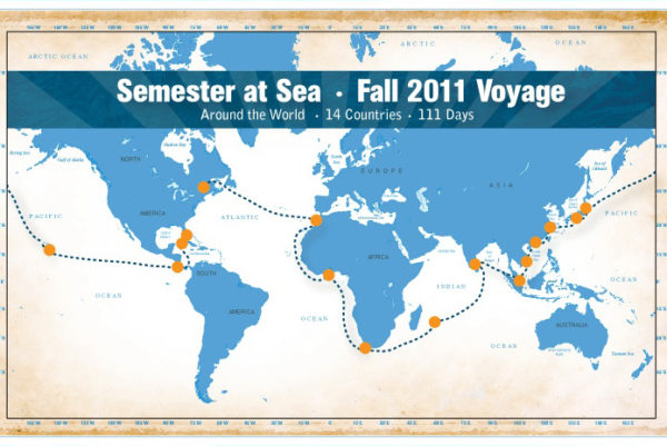 Semester at Sea itinerary