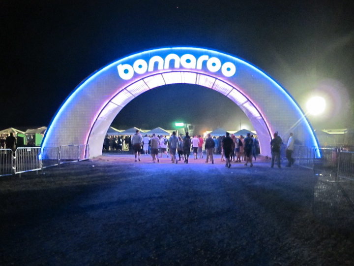 Crif dogs at Bonnaroo, Manchester, Tennessee
