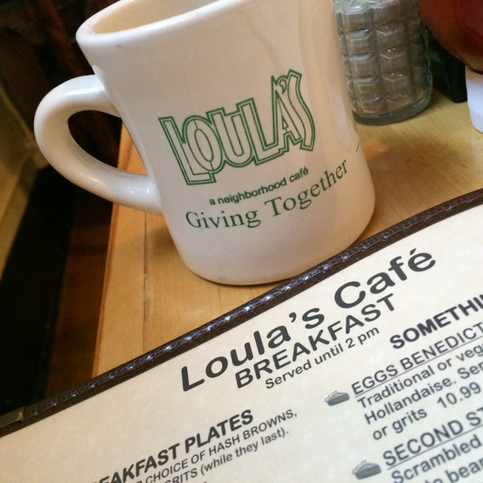 Loula's Cafe in Whitefish, Montana