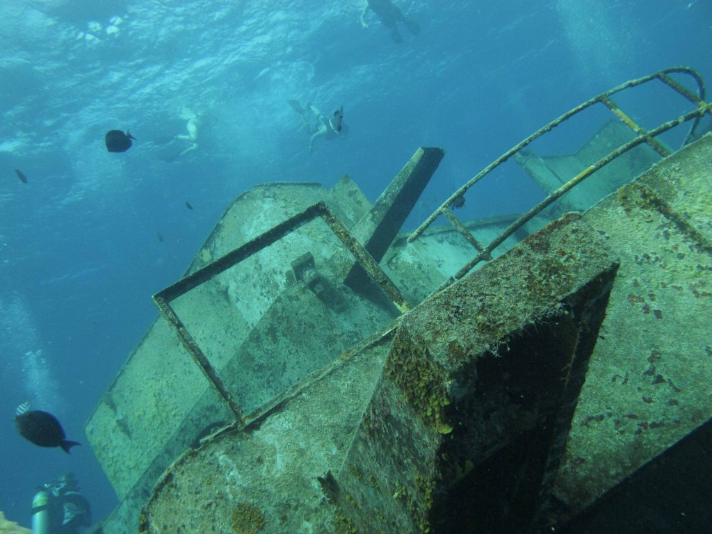 Kittiwake wreck dive in Grand Cayman