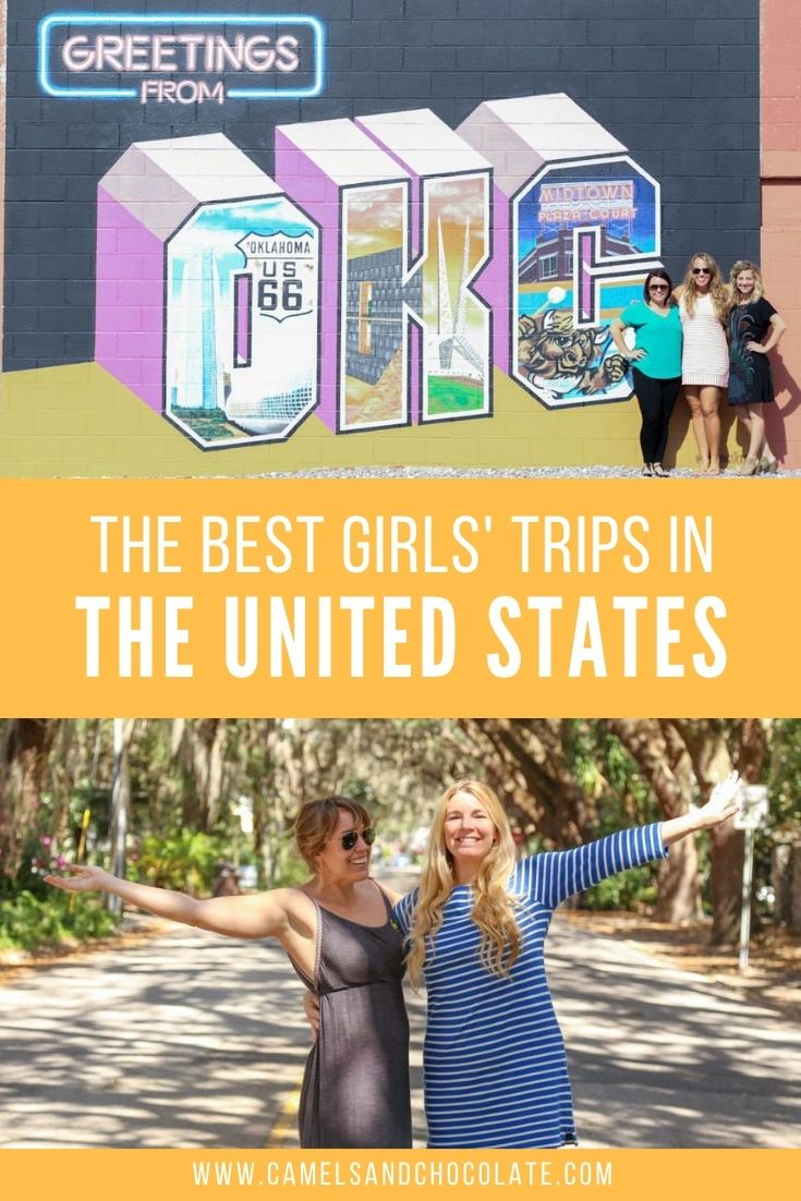 The Best Girls' Trips in the United States