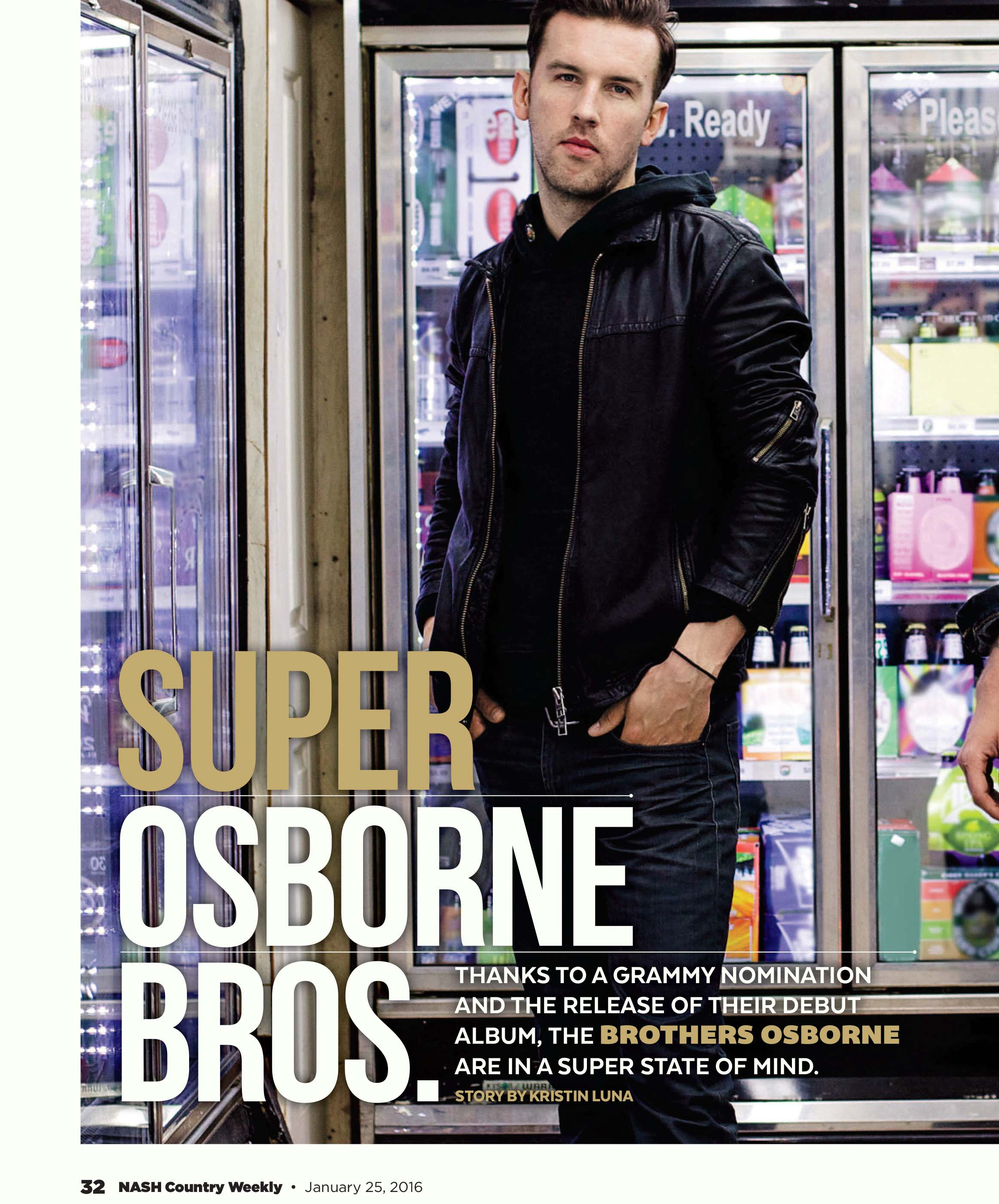 Brothers Osborne in Country Weekly