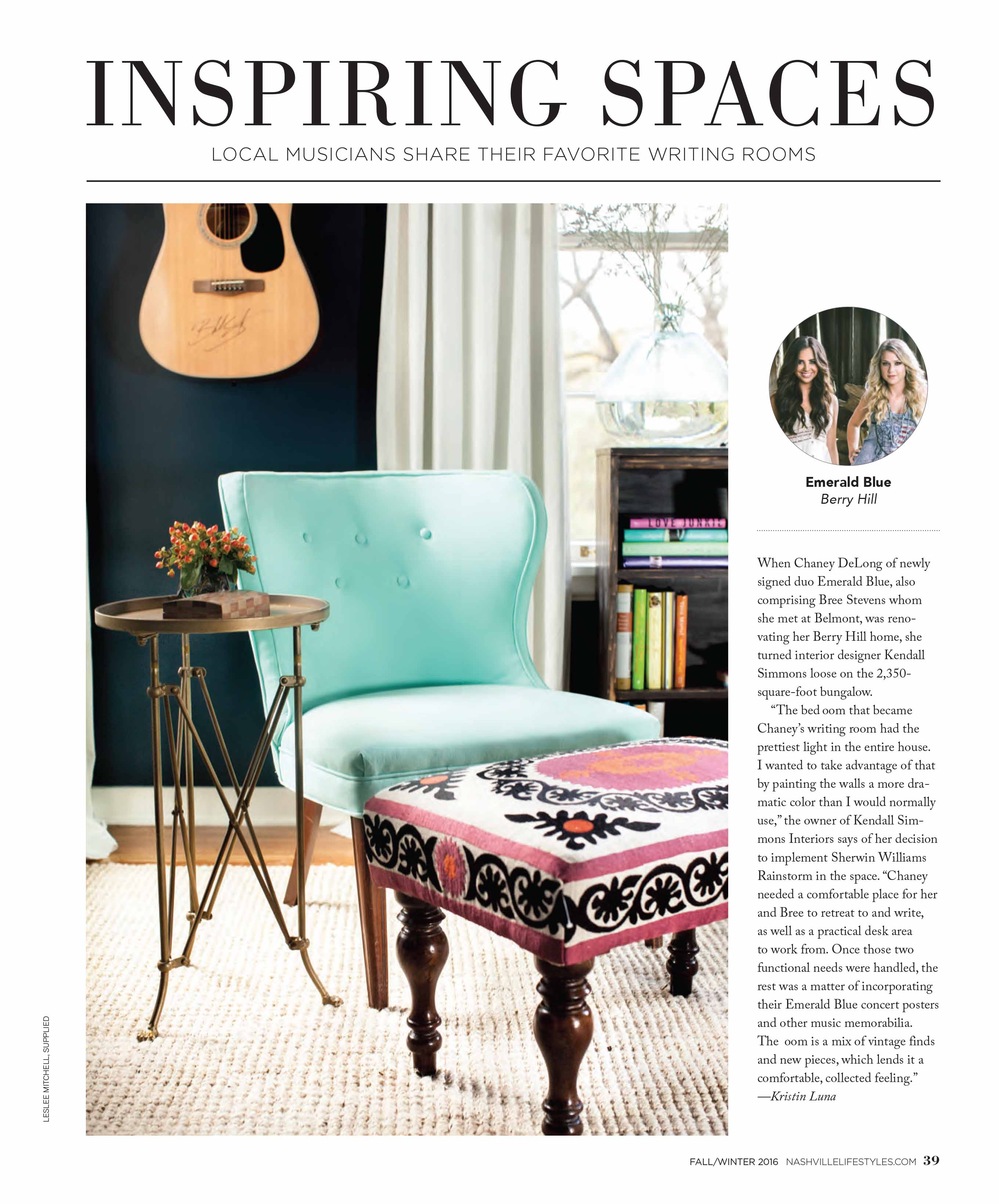 Inspiring Spaces in Nashville Lifestyles