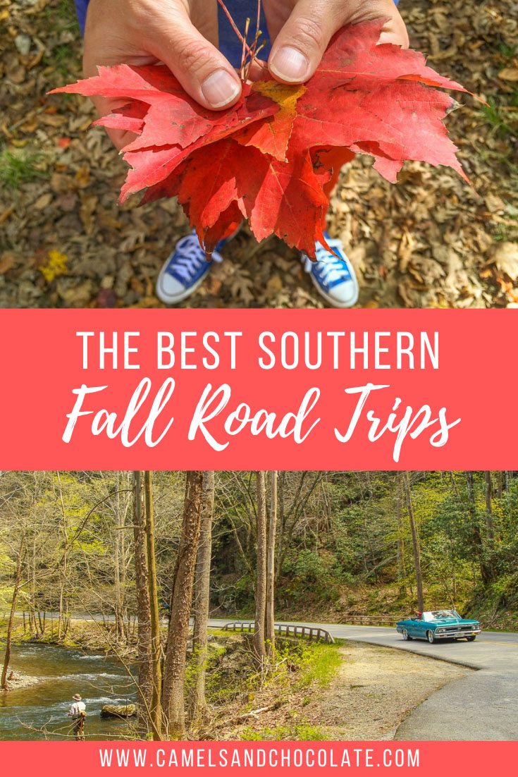 The Best Southern Fall Road Trips