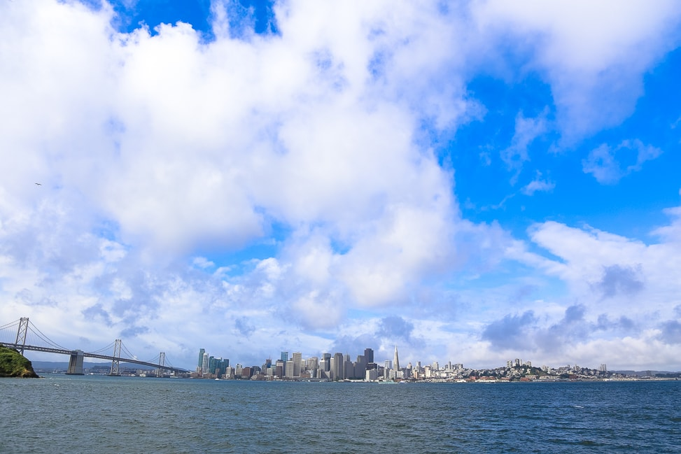 The View from Yerba Buena Island