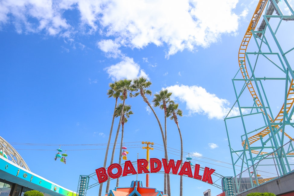 Family Travel in California: The Santa Cruz Boardwalk