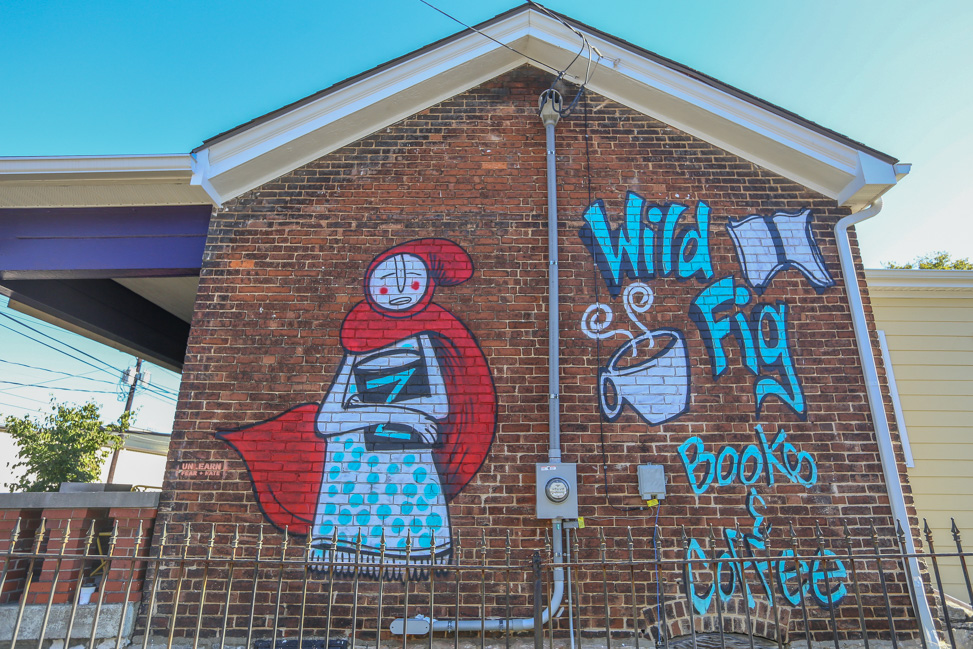 Murals in Lexington: Art, Culture & Spirits in Kentucky's Bourbon Country