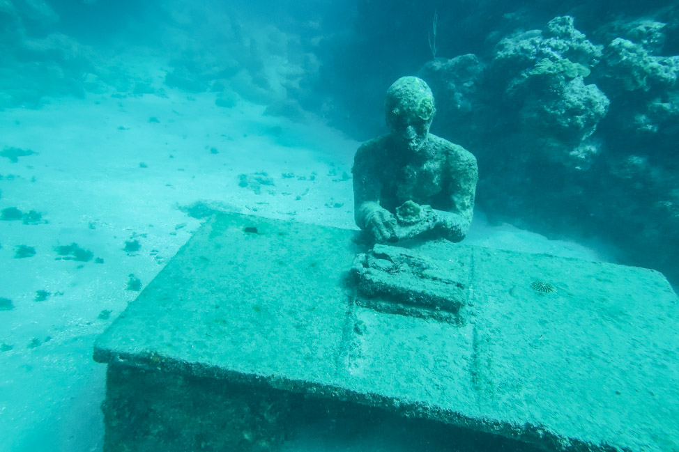 Underwater Grenada: Going Deep into the Marine Sculpture Park