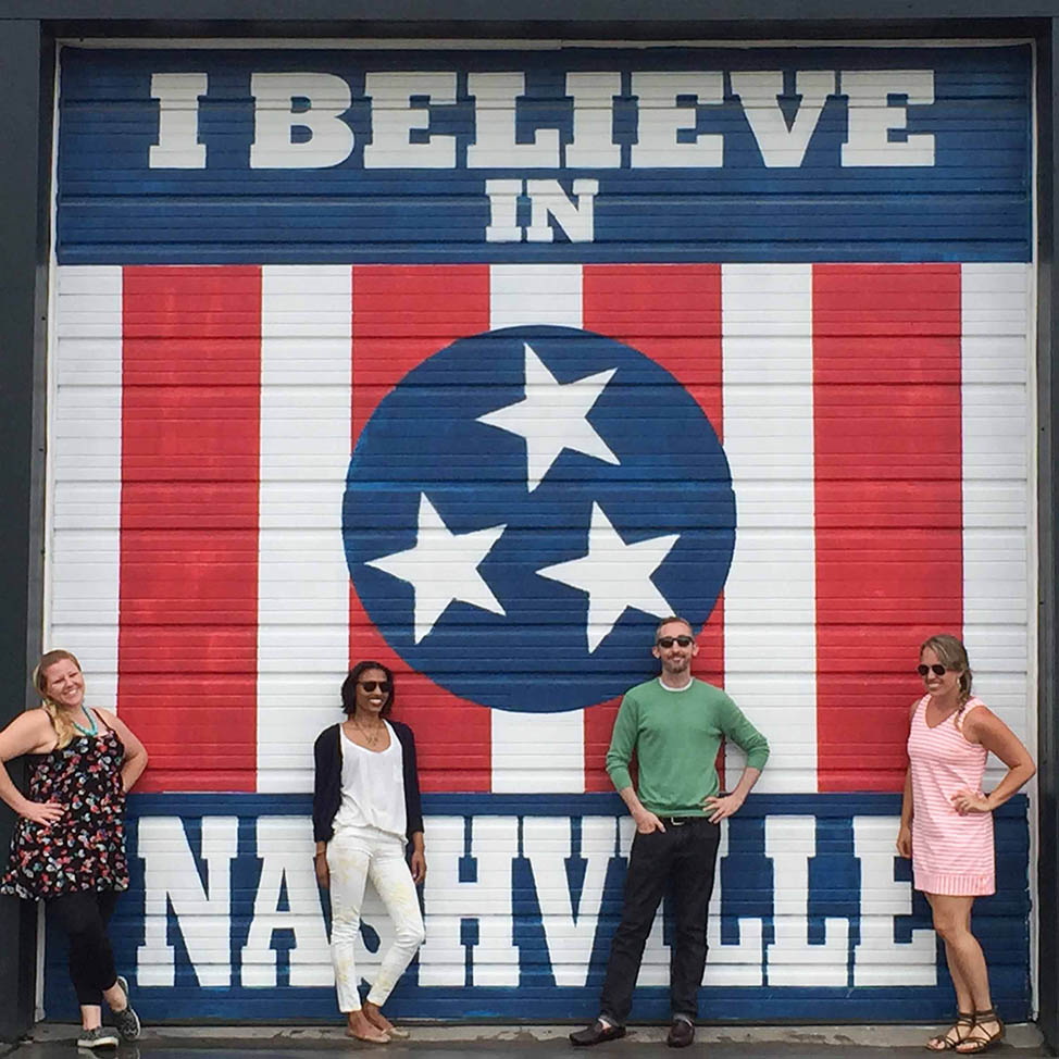 Nashville Murals and Walls: The Best Street Art in Music City | I Believe in Nashville mural