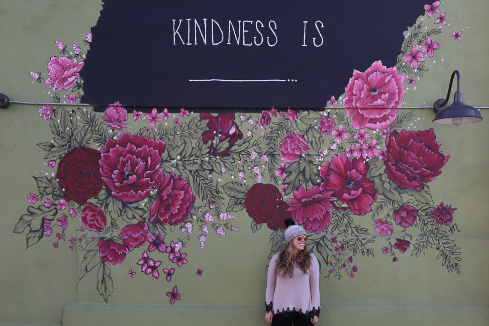 Kindness Is Mural in Nashville
