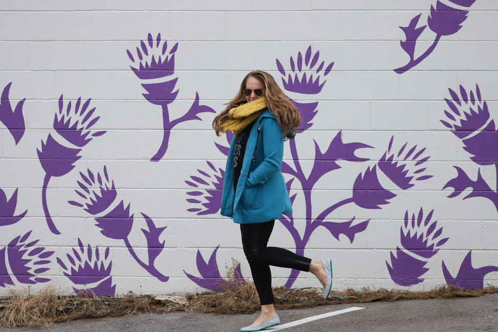 "Thistle Farms ""Love Heals Every Body"" mural in Nashville"