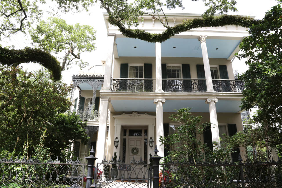 A Tour of the Garden District in New Orleans