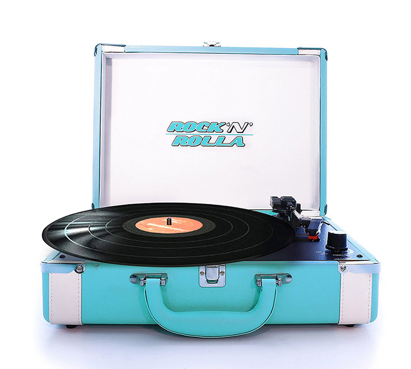 Record Player in Christmas Gift Guide