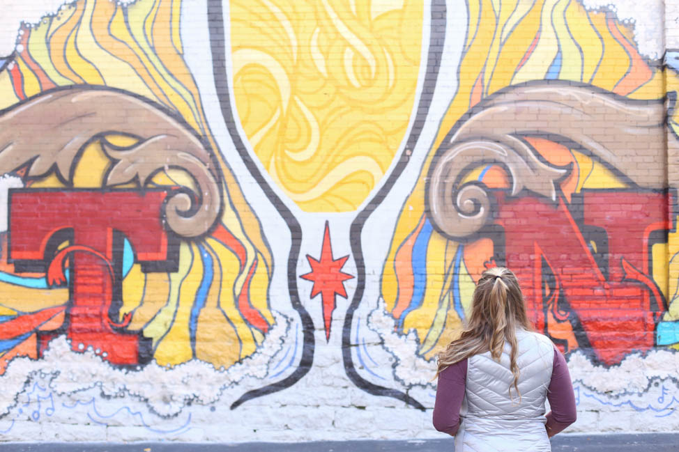 Mural Downtown in Nashville, Art of the Chalice