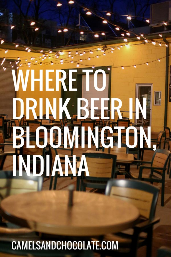 Where to Drink Beer in Bloomington, Indiana
