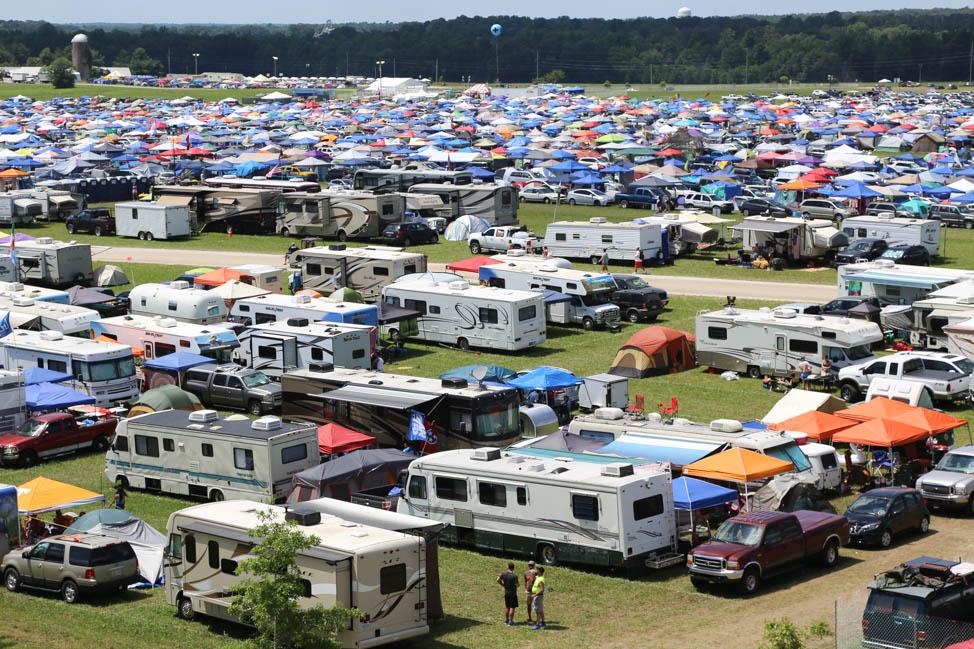 The Campgrounds at Bonnaroo Music Festival