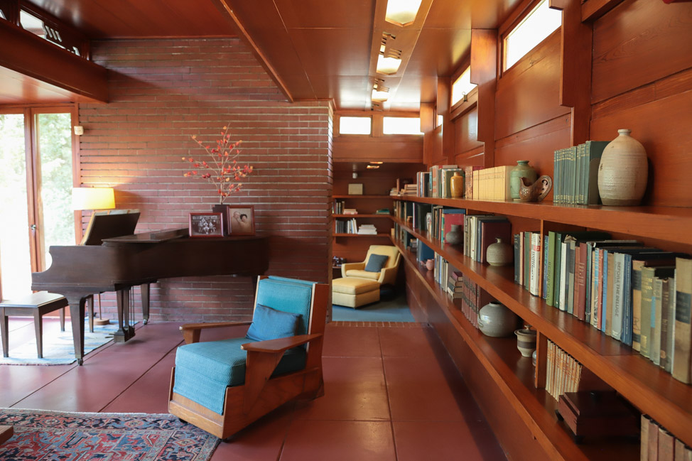 Frank Lloyd Wright House in Florence, Alabama