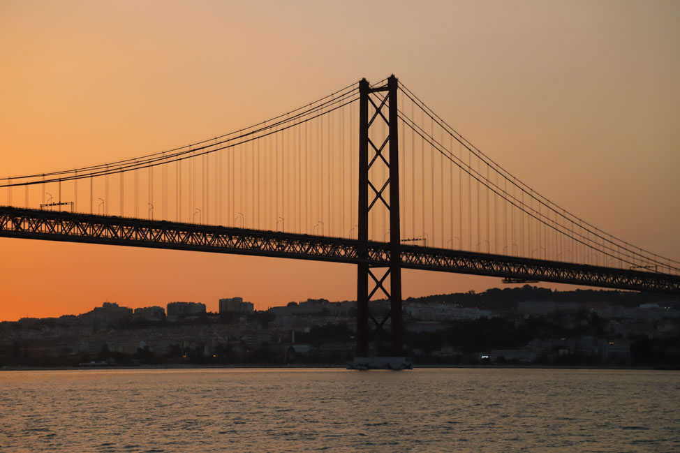 Sunset Cruise in Lisbon, Portugal