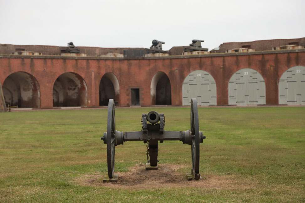 What to Do in Savannah: Fort Pulaski on Tybee Island