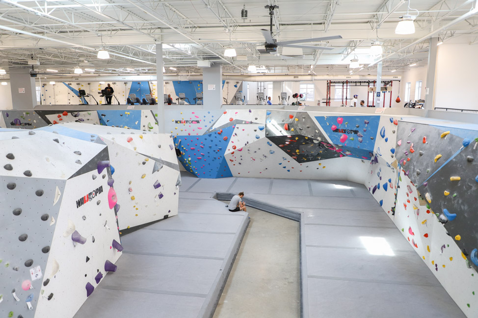 Memphis Rox Climbing Gym in Soulsville