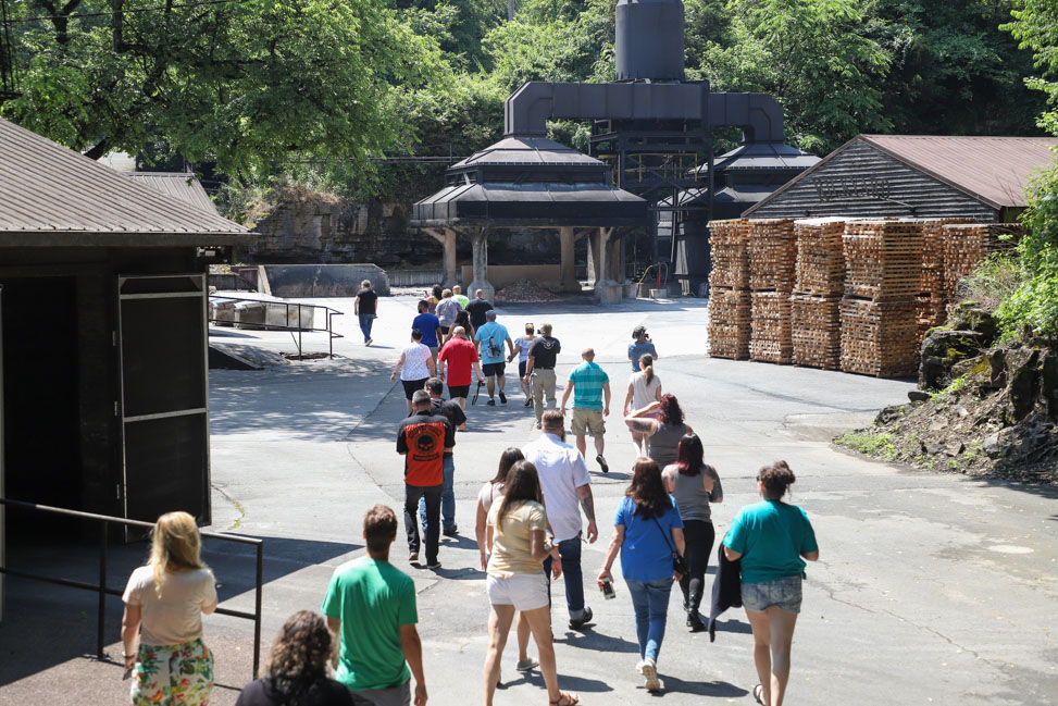 Jack Daniel's Tours at the Lynchburg Distillery