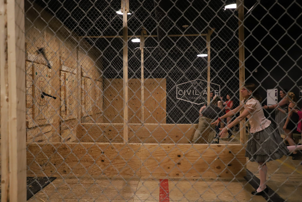 Axe Throwing in Huntsville, Alabama