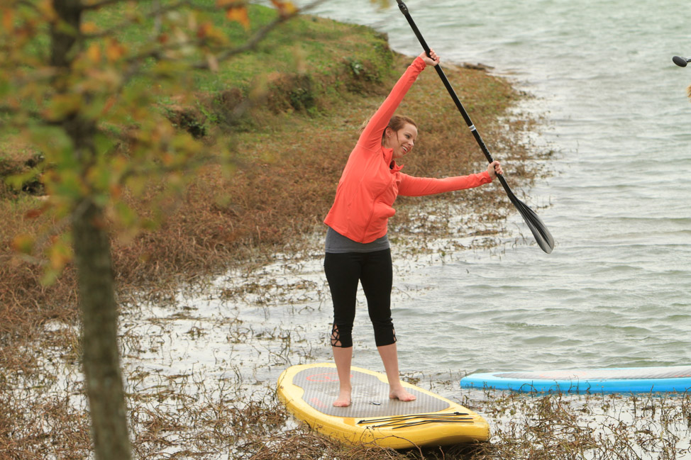 Standup paddleboarding in Franklin, Tennessee