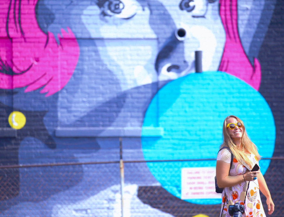 The Cincinnati Art Scene: Bubblegum mural in Cincinnati