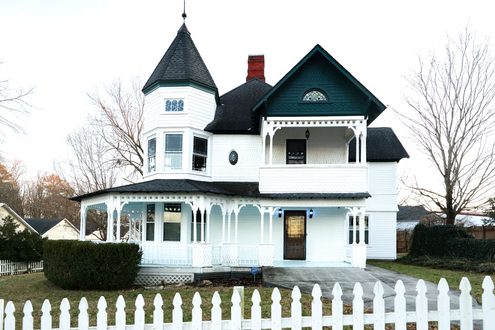 Completed Queen Anne Victorian renovation