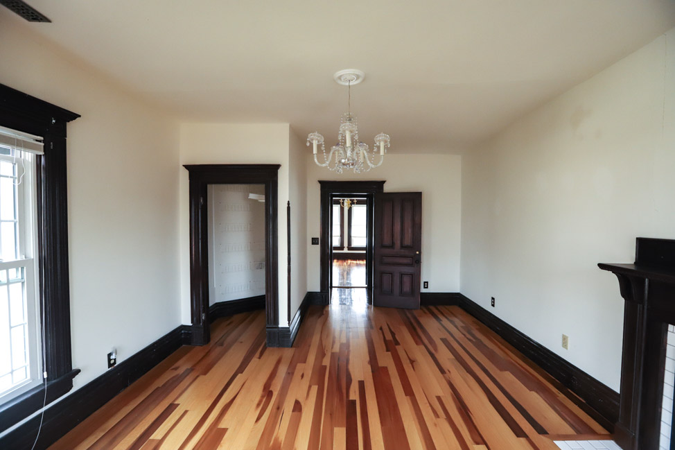 Replacing flooring in a Queen Anne Victorian