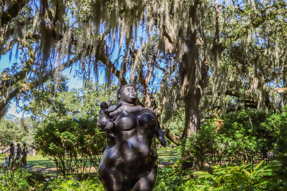 Sculpture Garden in New Orleans