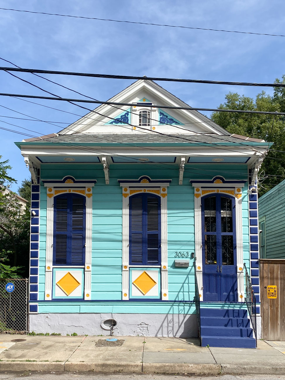 Bywater District in New Orleans