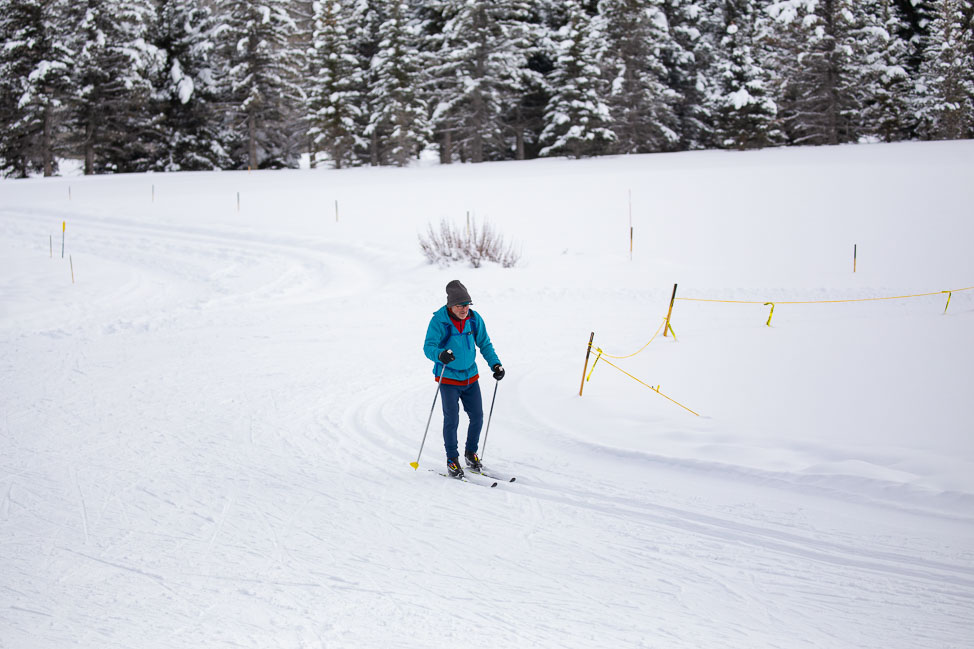 Nordic Ski Center in Sun Valley, Idaho