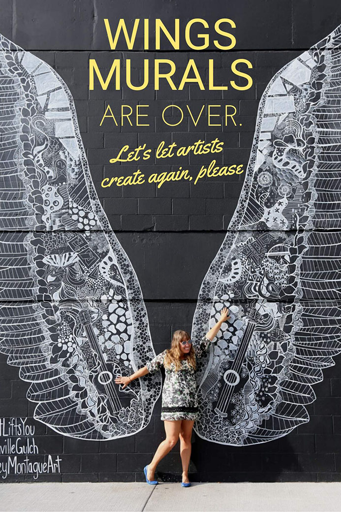 Wings murals and why this trend is over