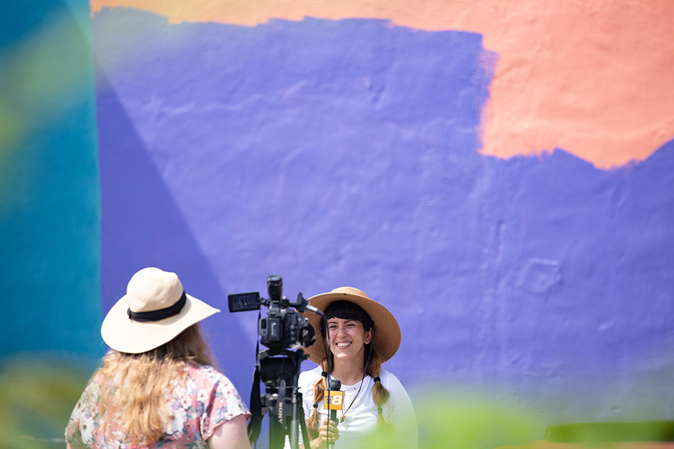 The Making of a Mural in Maryville, Tennessee by Nicole Salgar and Chuck Berrett