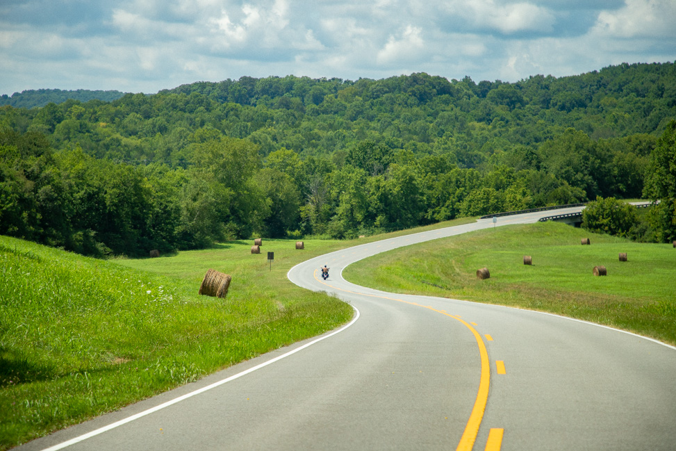 Drive the Tennessee section of the Natchez Trace Parkway