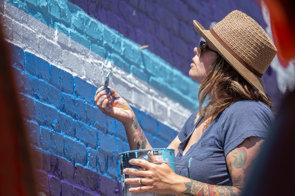 Whitney Herrington, Tennessee muralist