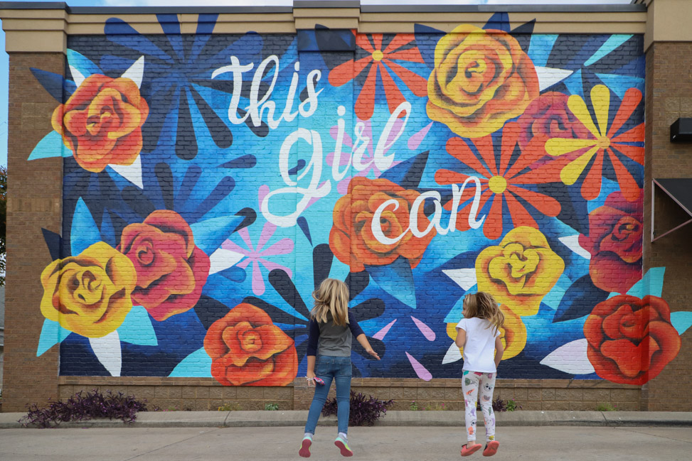 This Girl Can: Kim Radford's Nolensville mural