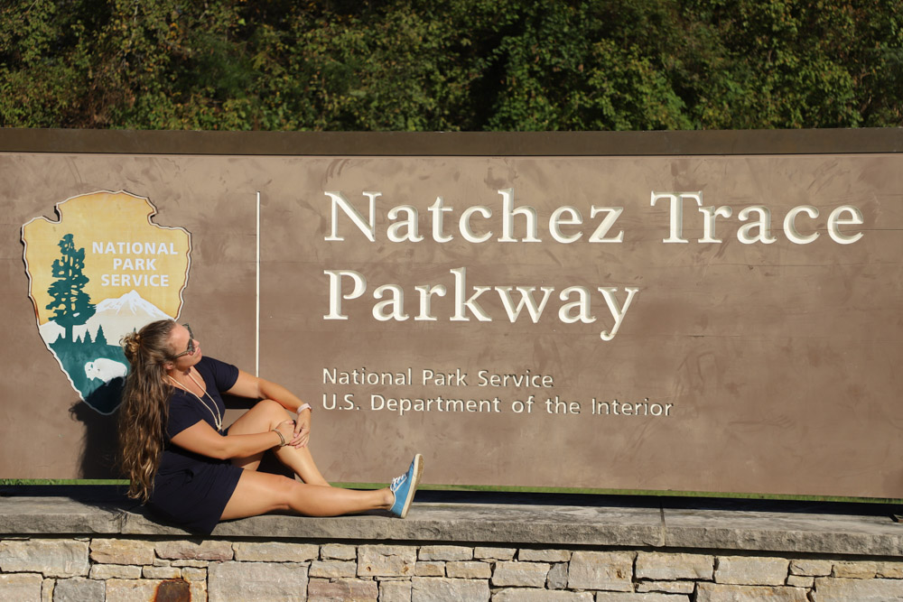 Driving the entire Natchez Trace Parkway